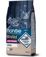 """מונג ביווילד לגורי חתולים אווז מופחת דגנים 1.5 ק""""ג"""