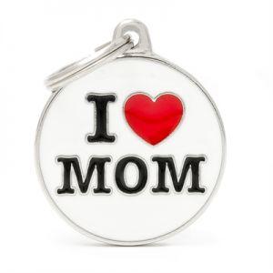 תג שם אני אוהב את אמא