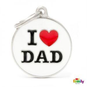 תג שם אני אוהב את אבא