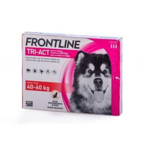 פרונטליין TRI-ACT לכלבים במשקל 40-60 ק