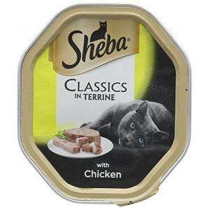 שיבא מזון רטוב לחתול פטה עוף 85 גרם