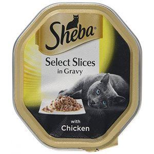 שיבא מזון רטוב לחתול פרוסות עוף 85 גרם