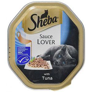 שיבא מזון רטוב לחתול טונה ברוטב עשיר 85 גרם