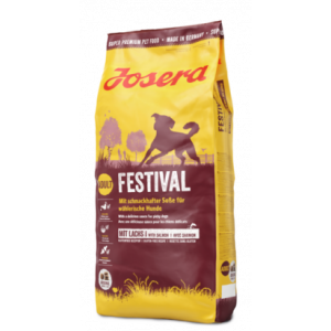 ג'וסרה פסטיבל לכלב (עם עוף וסלמון) 15 ק