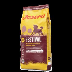 ג'וסרה פסטיבל לכלב (עם עוף וסלמון) 4.5 ק