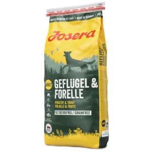 ג'וסרה עוף ופורל לכלב (ללא דגנים) 4.5 ק