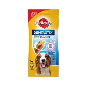 חטיף פדיגרי דנטאסטיקס לכלב בינוני (7 יח')