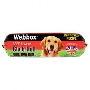 ויבוקס לכלב נקניק בשר - בקר 800 גר'