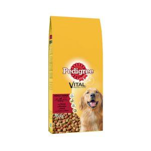 פדיגרי מזון לכלבים בוגרים בקר וירקות 15 ק