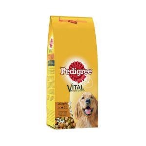 פדיגרי מזון לכלבים בוגרים עוף וירקות 3 ק