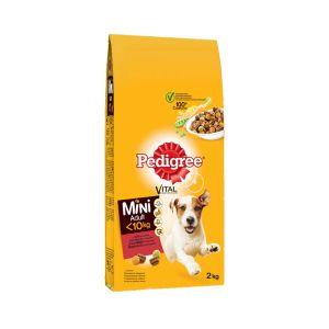 פדיגרי מזון לכלבים מגזע קטן בקר 2 ק