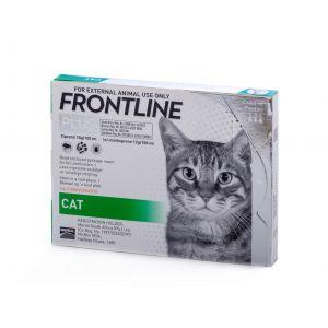פרונטליין פלוס טיפות חתולים