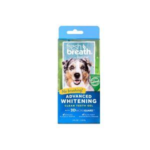 סט ג'ל + מי פה להלבנת שיניים לכלב
