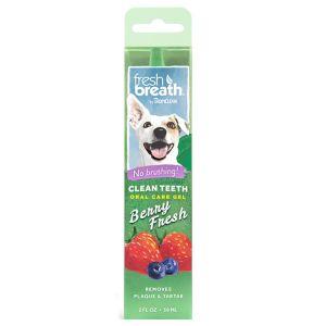 טרופיקלין ג'ל דנטלי לשיניים לכלבים בטעם פירות יער - 59 מ