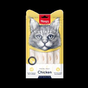 וונפי ליקוקי קרם עוף לחתול 70 גר'