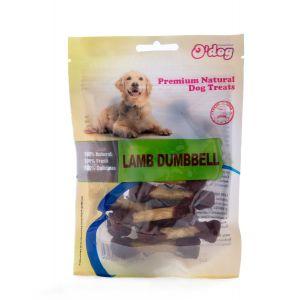 חטיף אודוג לכלב משקולות כבש ובקר 100 גרם