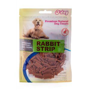 חטיף אודוג לכלב מקלות ארנבת 100 גרם