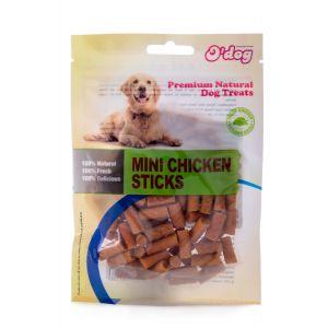 חטיף אודוג לכלב מקלוני עוף 100 גרם