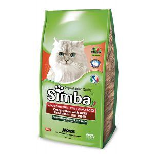 סימבה יבש לחתולים בקר 2 ק