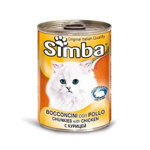 סימבה חתול 400 גרם שימור עוף