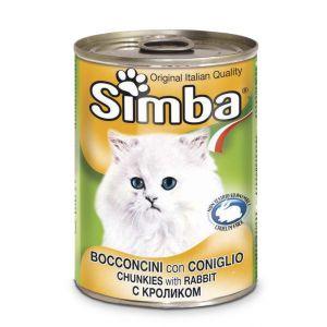 סימבה חתול 400 גרם שימור ארנב