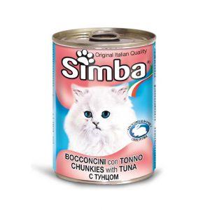 סימבה חתול 400 גרם שימור דג טונה