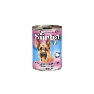 שימור סימבה לכלב עם חתיכות כבש 400 גר'