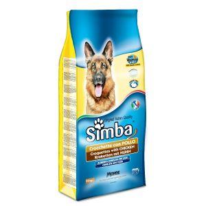 סימבה יבש לכלב עוף 10 ק
