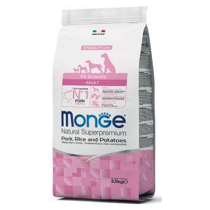 מונג' מונופרוטאין לכלב חזיר 12 ק