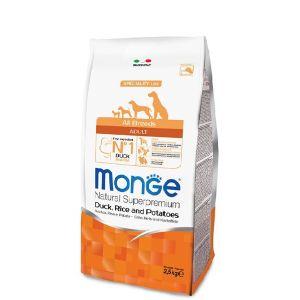 מונג' מונופרוטאין לכלב ברווז 2.5 ק
