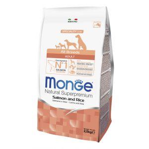 מונג' מונופרוטאין לכלב סלמון 2.5 ק
