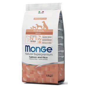 מונג' מונופרוטאין לכלב סלמון 12 ק