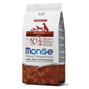 מונג' מונופרוטאין לכלב כבש 2.5 ק