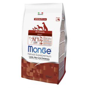 מונג' מיני לכלבים בוגרים כבש ואורז 2.5 ק