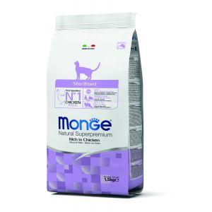 מונג' לחתול סטרילייזד 1.5 ק