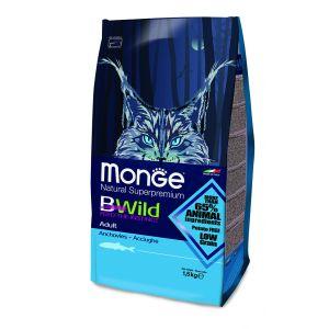 מונג' ביווילד לחתול - אנשובי 1.5 ק