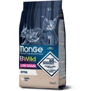 מונג ביווילד לגורי חתולים אווז מופחת דגנים 1.5 ק