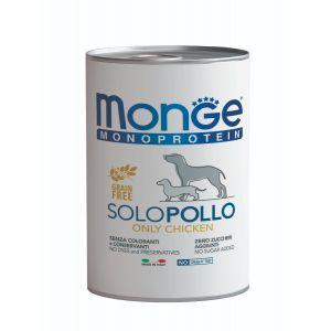 שימור מונג' מונו לכלב - עוף 400 גרם