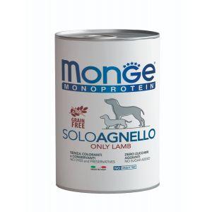 שימור מונג' מונו לכלב - כבש 400 גרם