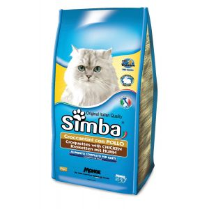 סימבה יבש לחתולים עוף 2 ק