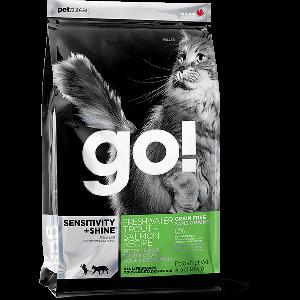 גו! לחתול פורל וסלמון 3.6 ק