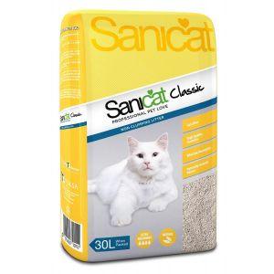 חול לחתולים סניקט קלאסיק 30 ליטר