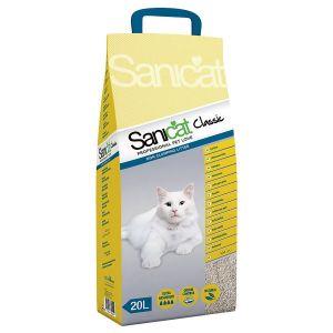 חול חתולים סניקט קלאסיק 20 ליטר