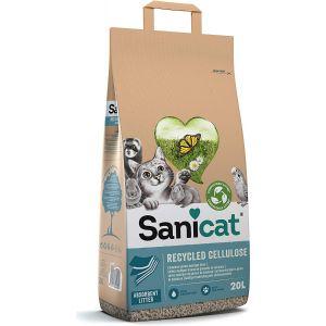 סניקט- מצע קלין אנד גרין לחתולים וחיות נוספות - 20 ליטר