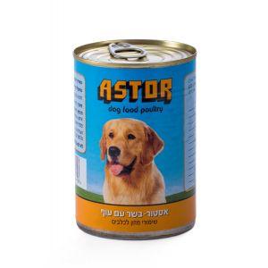 שימור אסטור לכלב בשר עם עוף 400 גרם