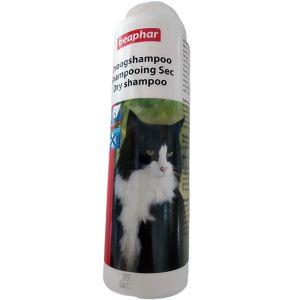 שמפו יבש אבקה לחתול ביהפר  100 גרם