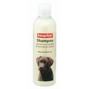 שמפו לכלבים גורים שמן מקדמיה ביהפר  250 מ