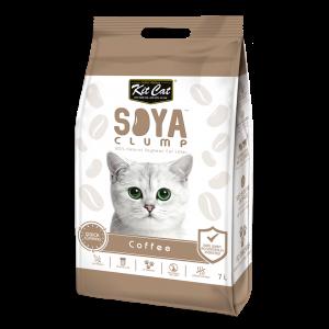 חול קיטקט סויה מתגבש - פולי קפה 7 ליטר
