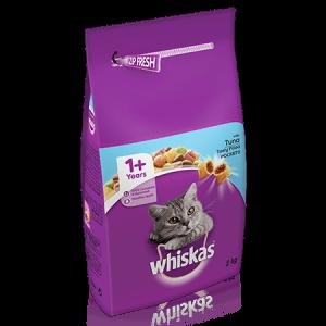 ויסקס מזון יבש לחתול בוגר טונה - Whiskas