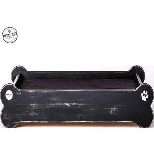 מיטת עץ מעוצבת-על העצם L